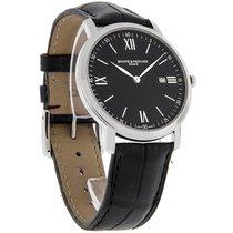 Baume & Mercier Classima Mens Black Leather Swiss Quartz...