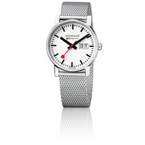 Mondaine Montre Evo Big Date Ladies Mailles Milanaises 30 mm