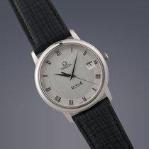Omega DeVille Prestige steel quartz watch