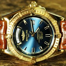 Breitling Headwind 18k Yellow Gold Box papers