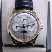 Jaeger-LeCoultre 18k Rose Gold Master Control Perpetual Moon...