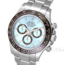 Rolex Cosmograph Daytona Ice Blue DIal Ceramic Bezel Platinum...
