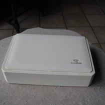Jaeger-LeCoultre große weiße vintage Lederbox