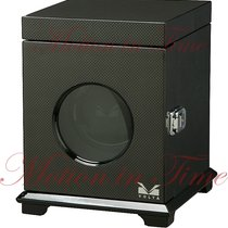 Volta Belleview Collection Single Square Watch Winder - Carbon...