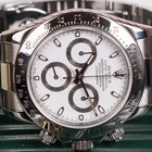 Rolex Daytona Steel ref. 116520 White Dial, Rolex 2 year warranty