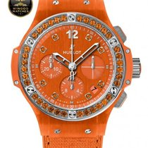 Hublot - BIG BANG - TUTTI FRUTTI LINEN ORANGE CHRONOGRAPH