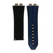Χίμπλοτ (Hublot) Blue & Black Leather Strap For Big Bang...