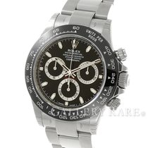 Rolex Cosmograph Daytona Black Ceramic Bezel Steel 40MM...