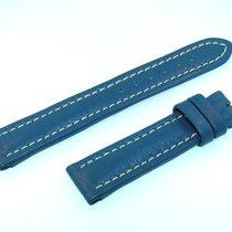 Breitling Band 16mm Kalb Blau Blue Azul Calf Strap Für...