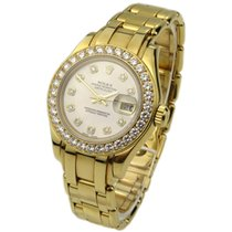 ロレックス (Rolex) Pearlmaster Lady Datejust 18k 69298