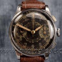 Dogma Vintage Black Dial Steel Chronograph Cal. Valjoux R22