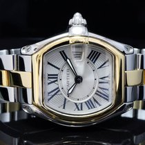 Cartier 2014 Steel & Gold Ladies Roadster, Box &...
