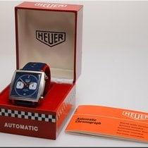 Heuer Monaco 1972 + Original box and papers. Like new condition