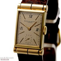 Vacheron Constantin Vintage Art Deco Rectangular Gentlemans...