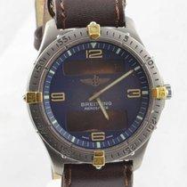 Breitling Aerospace Herren Uhr Titan/gold 42mm F56062 Vintage...