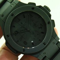 Hublot Big Bang Aero Bang All Black Ceramic Military Men Watch...