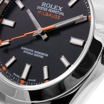 勞力士 (Rolex) Rolex Milgauss SS Black Luminescent Dial - 116400...