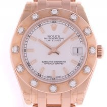 Rolex Datejust Pearlmaster Roségold Everose Special Edition ...