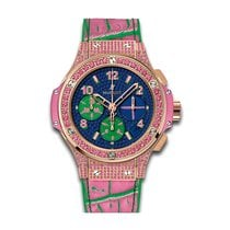 Hublot Big Bang Pop Art 41mm Automatic 18K Rose Gold Set with...