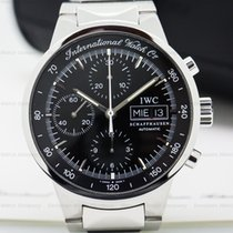 IWC 3707-08 GST Chronograph Black Dial SS / SS (25686)