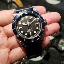 帝陀 (Tudor) 79220B Leather Strap Heritage Black Bay 41mm