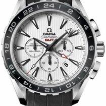 Omega 231.13.44.52.04.001 Seamaster Aqua Terra Mens - Steel on...