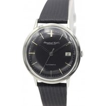 IWC Vintage IWC Stainless Steel Automatic Black Dial