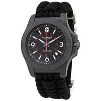 Victorinox Swiss Army I.N.O.X. Carbon Black Dial Men's...
