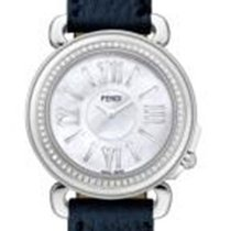 Fendi Selleria White Dial Ladies Diamond Watch
