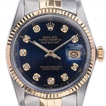 Rolex Datejust Custom Stahl 18kt Gelbgold Automatik Armband...