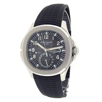 Patek Philippe Aquanaut Dual Time Stainless Steel Automatic...