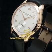Baume & Mercier Clifton Gold Case Automatic Silver - 10060