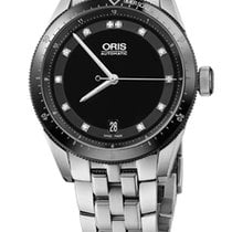 Oris Artix GT Date, Diamonds, Ceramic Top Ring, Steel
