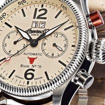 インガーソル (Ingersoll) IN3225CR Bison No. 70 Automatik Herren 46mm...
