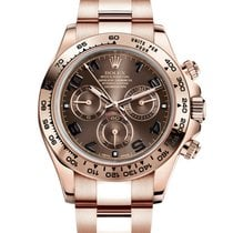 Rolex Cosmograph Daytona Rose Gold Chocolate Dial