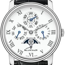Blancpain Villeret Quantieme Perpetual 8 Days Automatic 42mm...