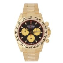 롤렉스 (Rolex) DAYTONA 18K Yellow Gold Watch Black Dial Gold...