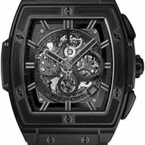 Hublot Spirit Of Big Bang Chronograph 601.ci.0110.rx Ceramic NEW