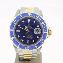 Rolex Submariner Date Steel/Gold BlueDial (BOX1999) FINEBezel