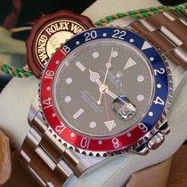 Rolex GMT II ST REF 16710 +Box & Papiere+ WIE NEU+ REVI +GA