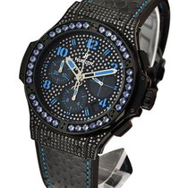 Hublot 341.SV.9090.PR.0901 Big Bang Black Fluo Blue Automatic...