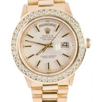 Rolex Day Date Presidential Men's 36mm Diamond Dial 18k...