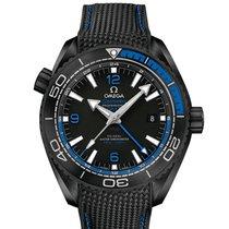 Omega Seamaster Planet Ocean Deep Black 600M GMT 45.5 mm
