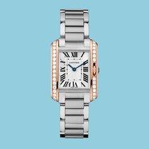 Cartier TANK ANGLAISE 30 Rotgold/Stahl -NEU- incl. VAT Exp....