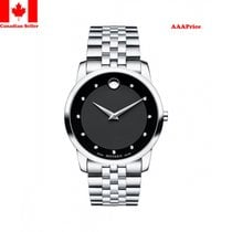 Movado Museum Classic Black Dial Stainless Steel 0606878...