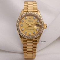 Rolex Lady DateJust 69138 18K Yellow Gold Diamond Dial