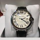 Cartier Ballon Bleu 42mm Automatic Leather Band