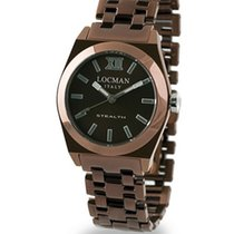 Locman Stealth 0204BNBNFNK0BRN Quartz Ladies Watch