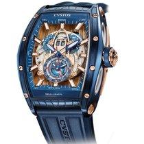 Cvstos Challenge Sea-Liner GMT Blue Steel & Rose Gold 46mm
