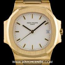 パテック・フィリップ (Patek Philippe) 18k Yellow Gold White Dial...